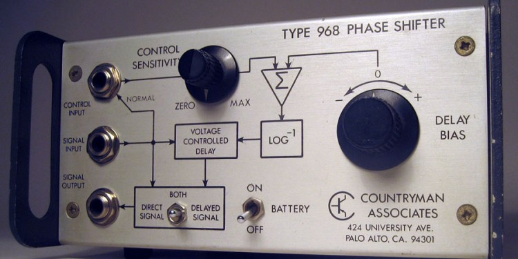 Beautiful 1974 circuitry makes eerie sounds that inspire today.
