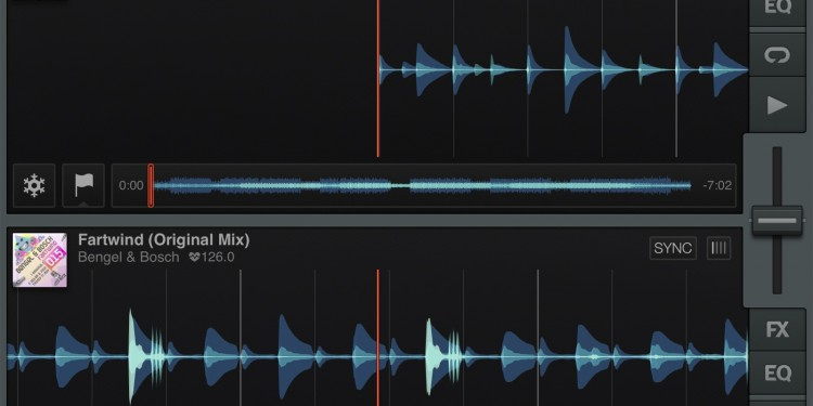 The tidy toolbar at the bottom shows Audiobus connectivity.