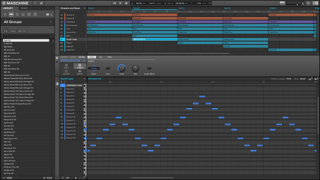 The arpeggiator (correctly) records into patterns, so you can more easily use it as a way of generating ideas.