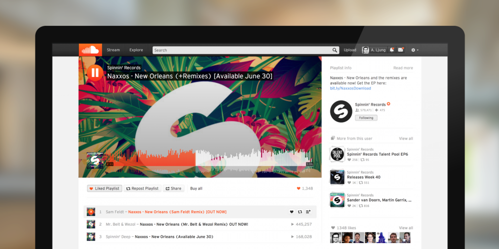 SoundCloud Partners with Warner