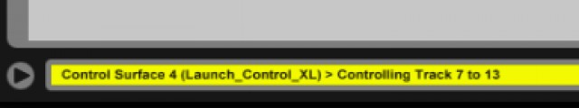"This is what Ableton Live shows you so you know which track you're on, in place of the ""red box."" Not... remotely helpful."