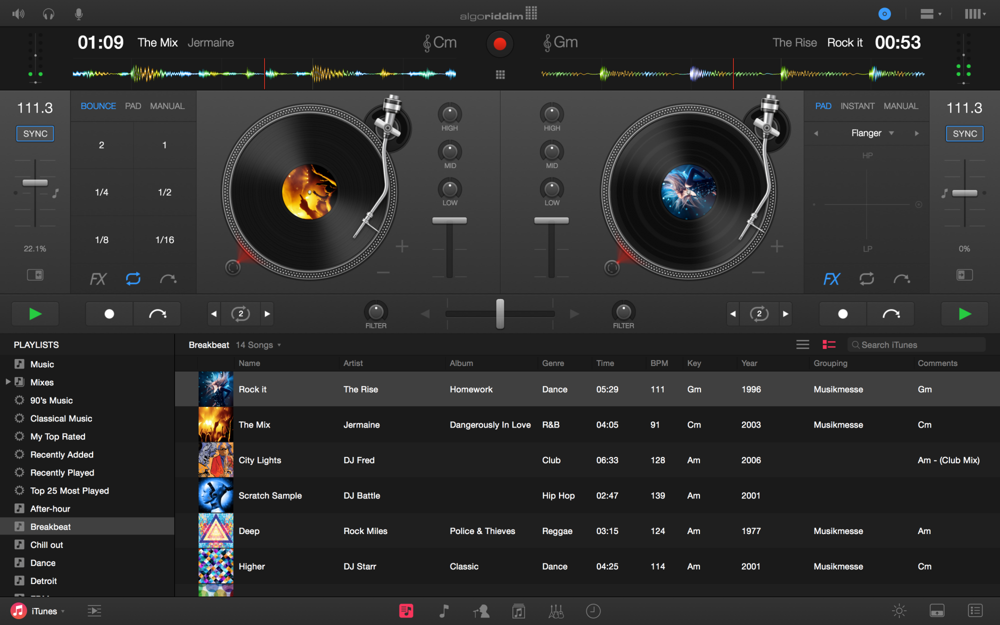 Djay Pro For Mac A Serious Dj App With Spotify