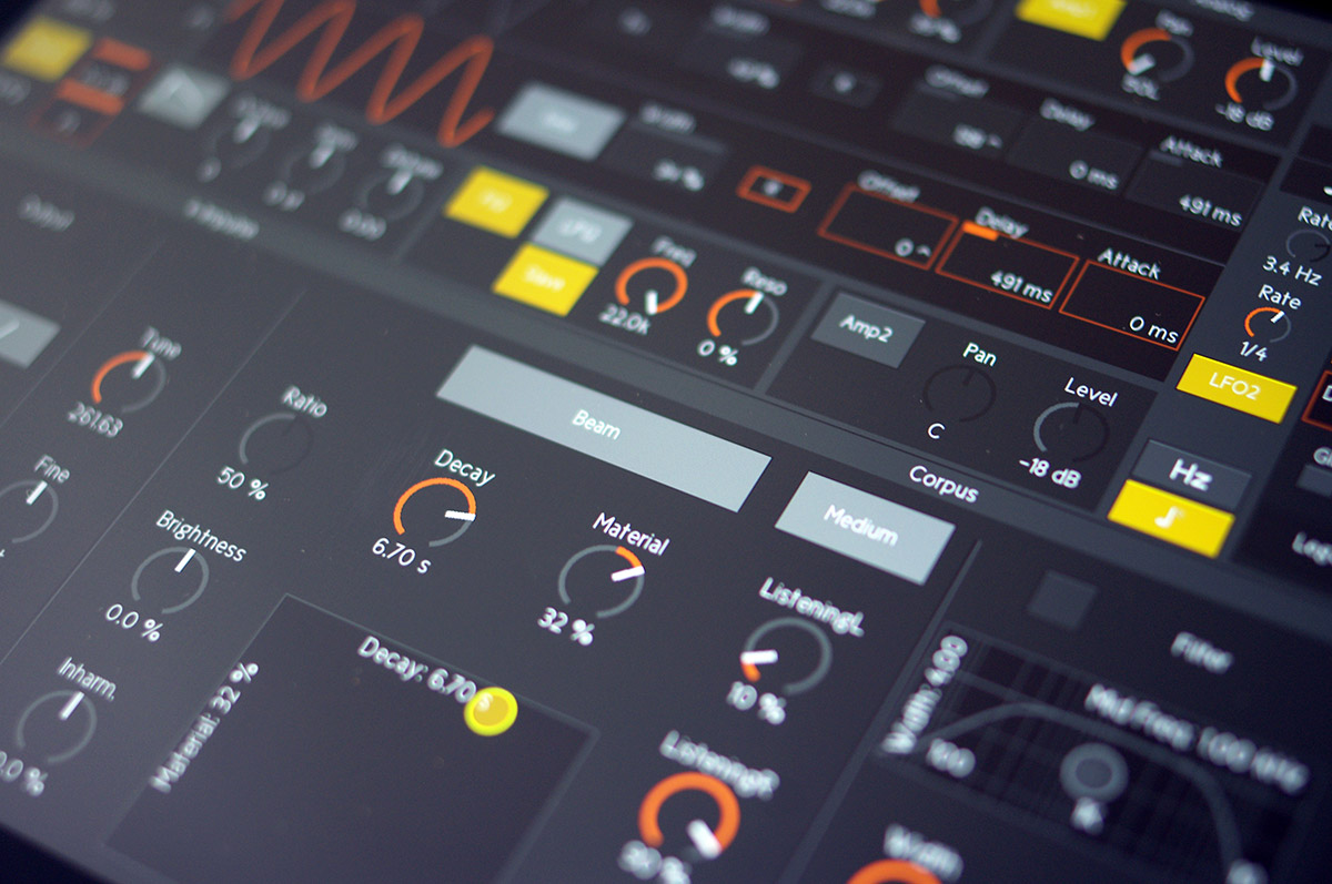 TouchAble 3 Controls Ableton Via Wire Mimics Live Devices On IPad Gallery