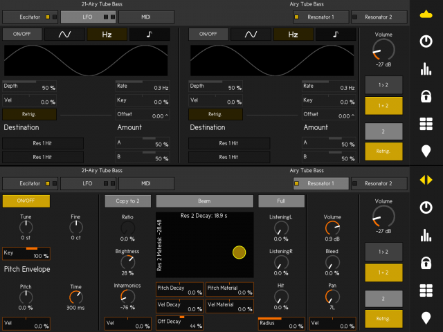 touchAble V3 - Controls / Mimics Ableton Live Devices on iPad