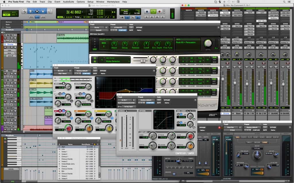 Pro Tools Adds Free Edition, Subscriptions, Marketplaces for Plug