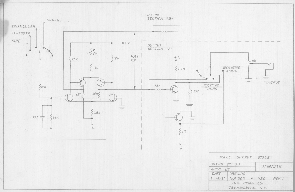 see the exquisite drawings bob moog made of prototypes  circuits