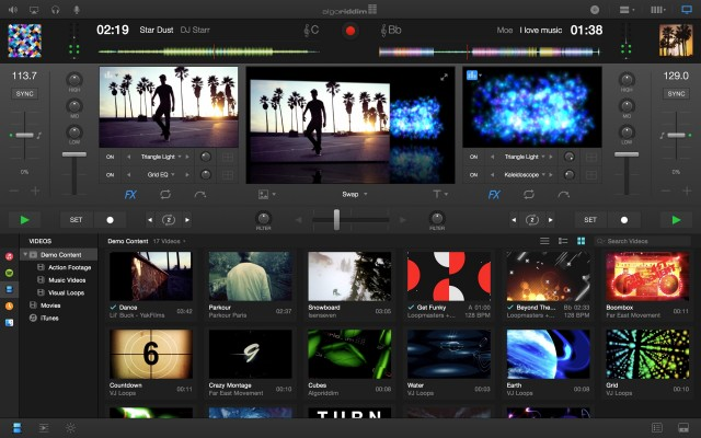djay Pro Video Mode Screenshot