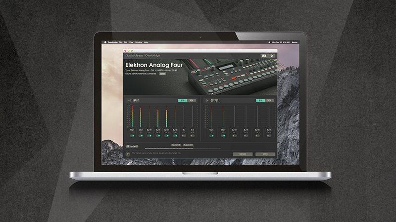 the analog vst elektron extends overbridge to plug ins create digital music
