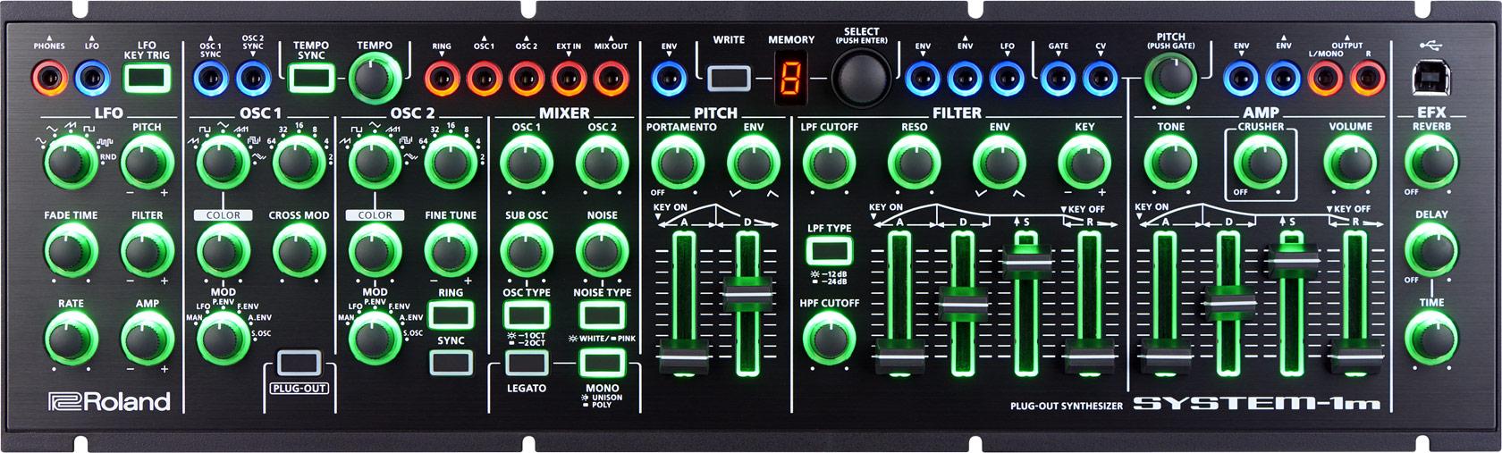 Roland Intros Aira System 1m Eurorack Module Aka Modular