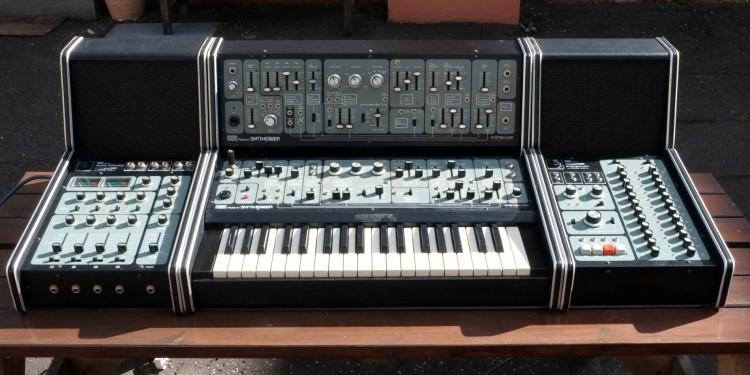 The 100m is probably a more appropriate model for whatever is coming from Roland next, but check out the stunning industrial design on the original System 100. This might inspire a custom Eurorack cabinet with keyboard, or two. Photo (CC-BY Notreshuggie.
