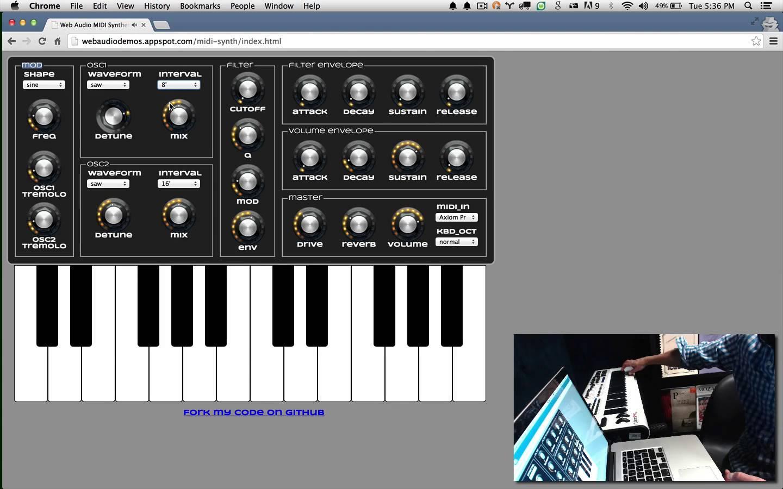 Now Google Chrome Browser Does MIDI - CDM Create Digital Music