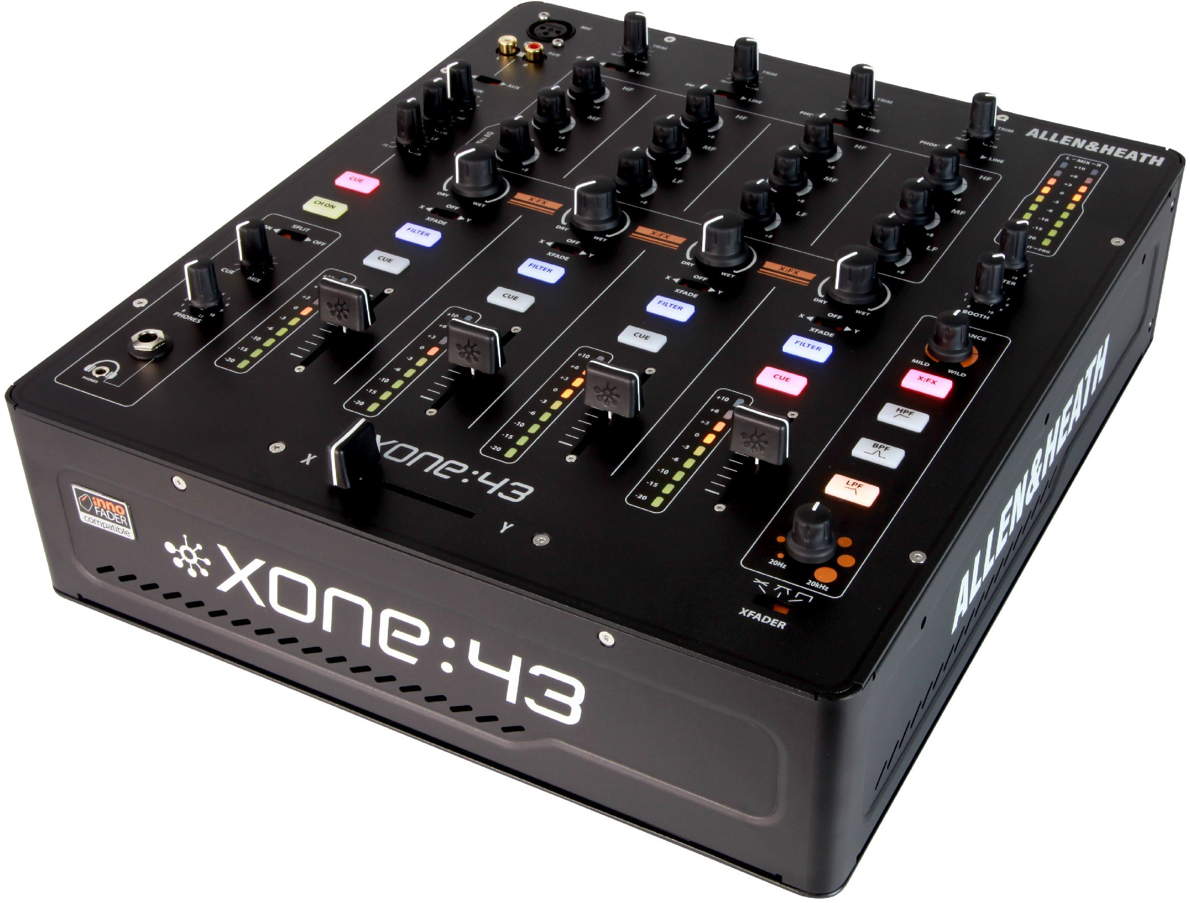 allen heath 39 s new analog mixer could be one to beat xone 43 4 1 cdm create digital music. Black Bedroom Furniture Sets. Home Design Ideas
