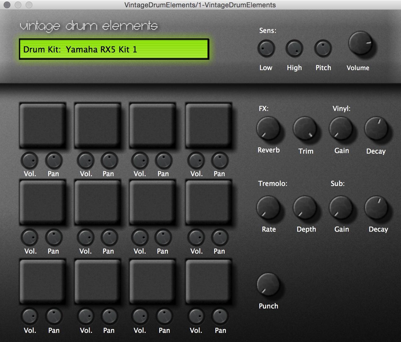 Drum machine sets the rhythm 68