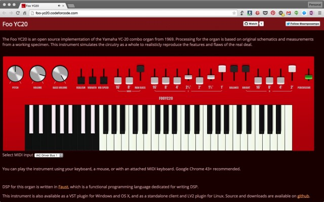 Cool Things Chrome Can Do Now, Thanks to Hardware MIDI - CDM