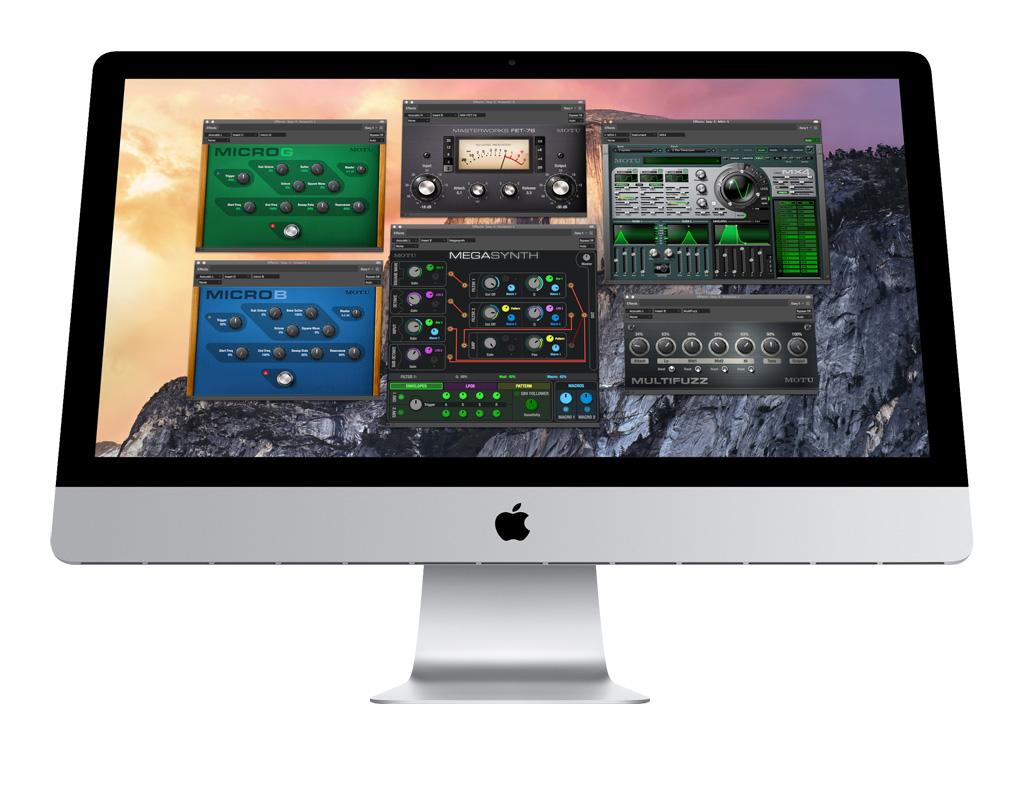 Audio/midi Interfaces Constructive Motu Mx4 Software