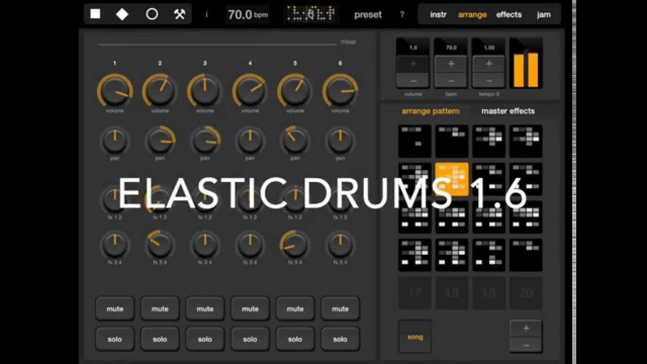 this is now the ios drum machine you want to jam with elastic drums 1 6 cdm create digital music. Black Bedroom Furniture Sets. Home Design Ideas