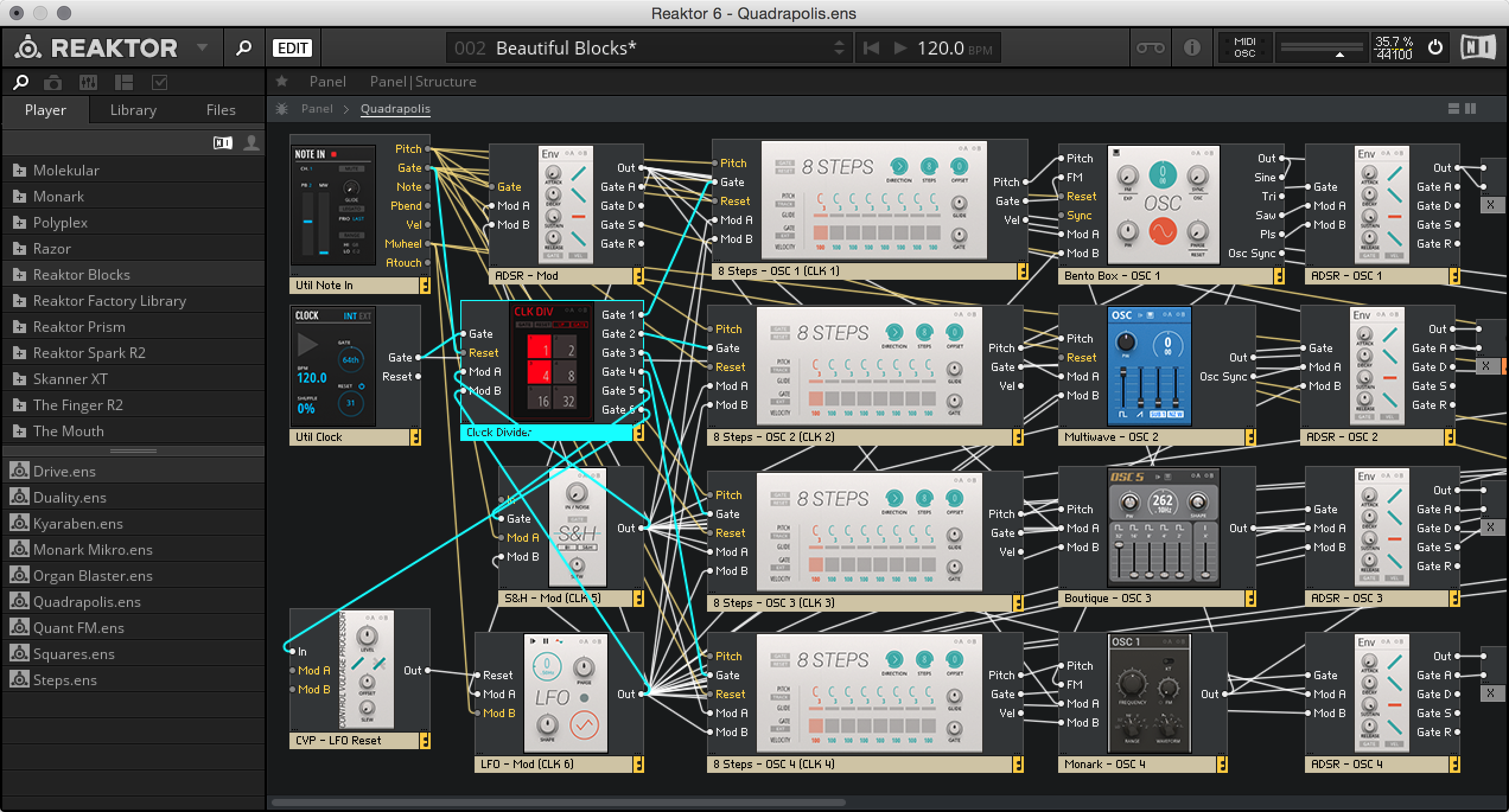 ni reaktor 6 blocks