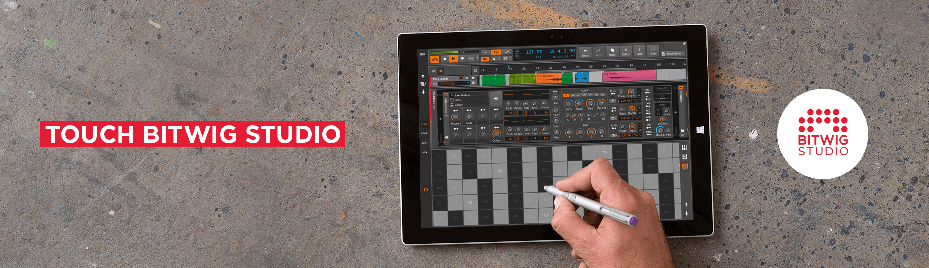 Bitwig Studio is a real touch DAW you can use today - CDM