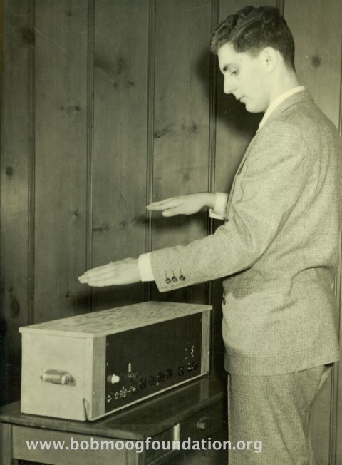 Watch Bob Moog play and talk about the Theremin - CDM Create