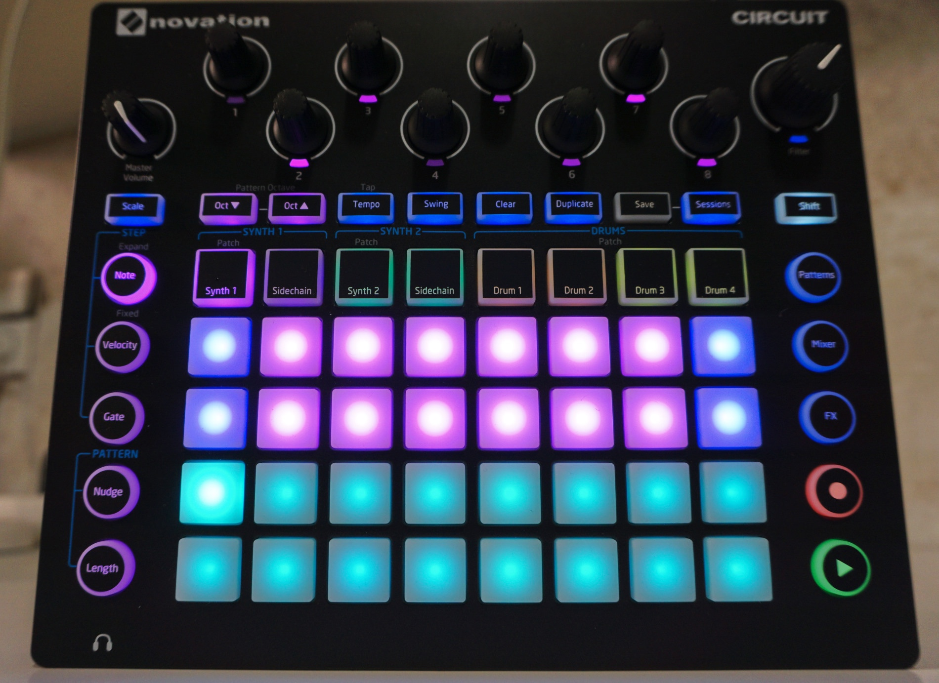 hands on with novation circuit drum machine synth sequencer hardware all in one cdm create. Black Bedroom Furniture Sets. Home Design Ideas