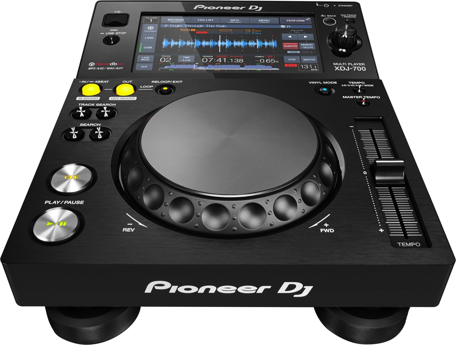 pioneer xdj 700 is the 699 touchscreen cdj to take home cdm create digital music. Black Bedroom Furniture Sets. Home Design Ideas
