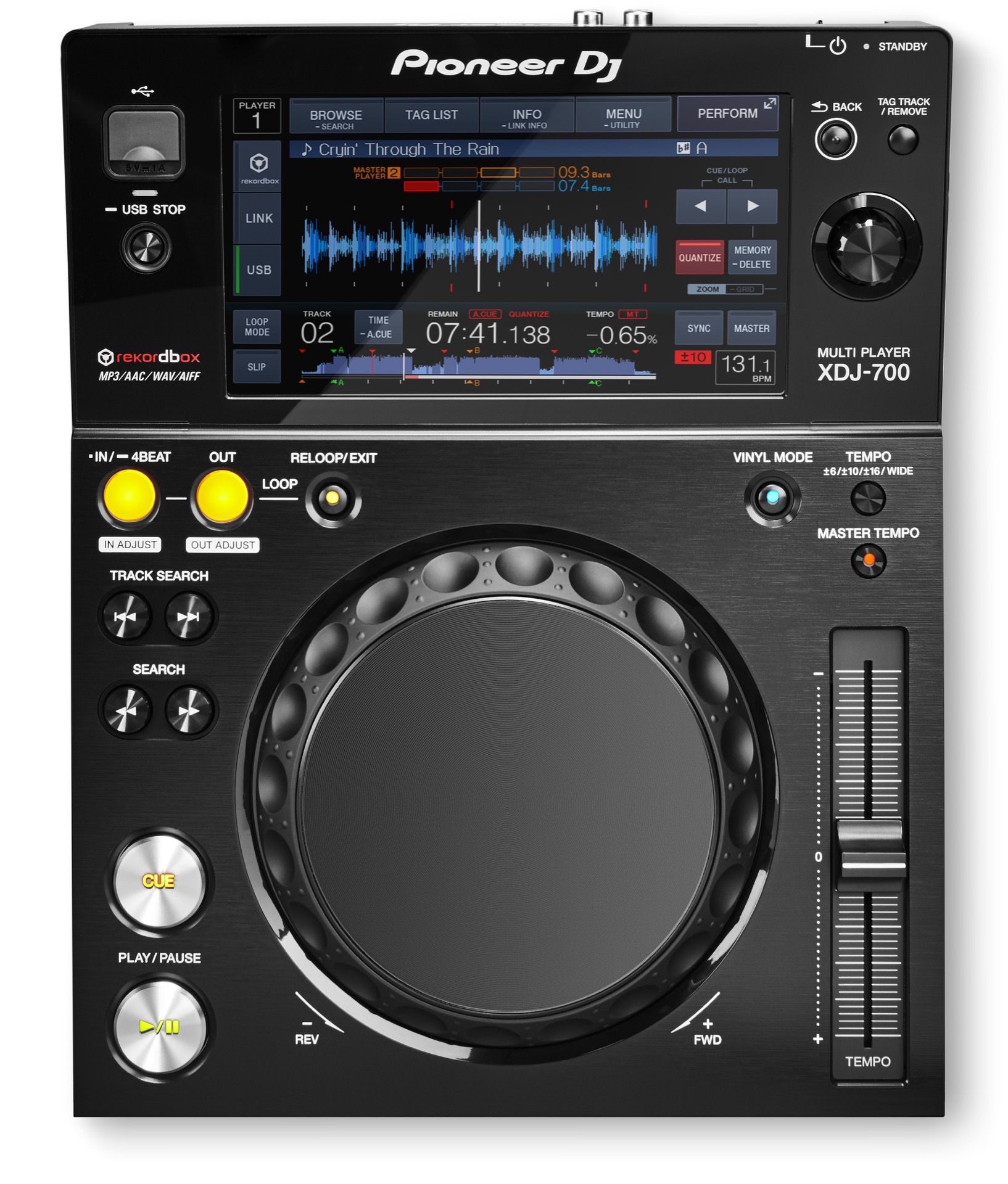 Pioneer XDJ-700 is the $699 touchscreen CDJ to take home