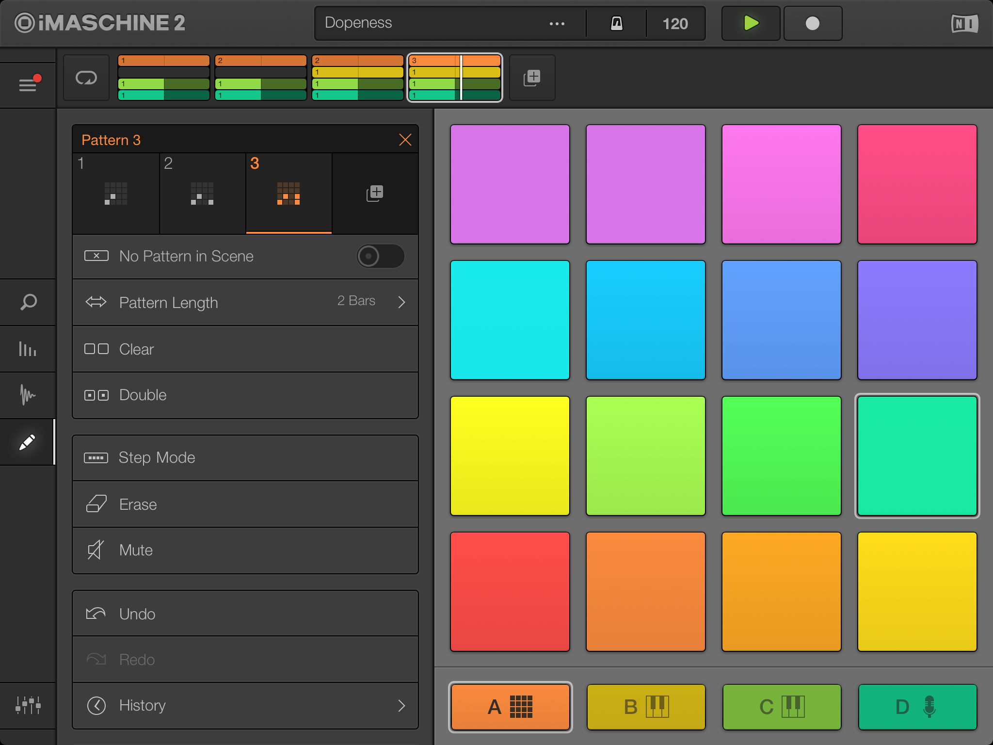 iMaschine 2 adds steps, arrangement, chords to mobile drum