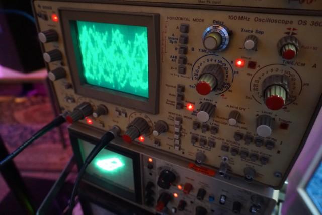 Sylvester with his Oscilloscopes(2)
