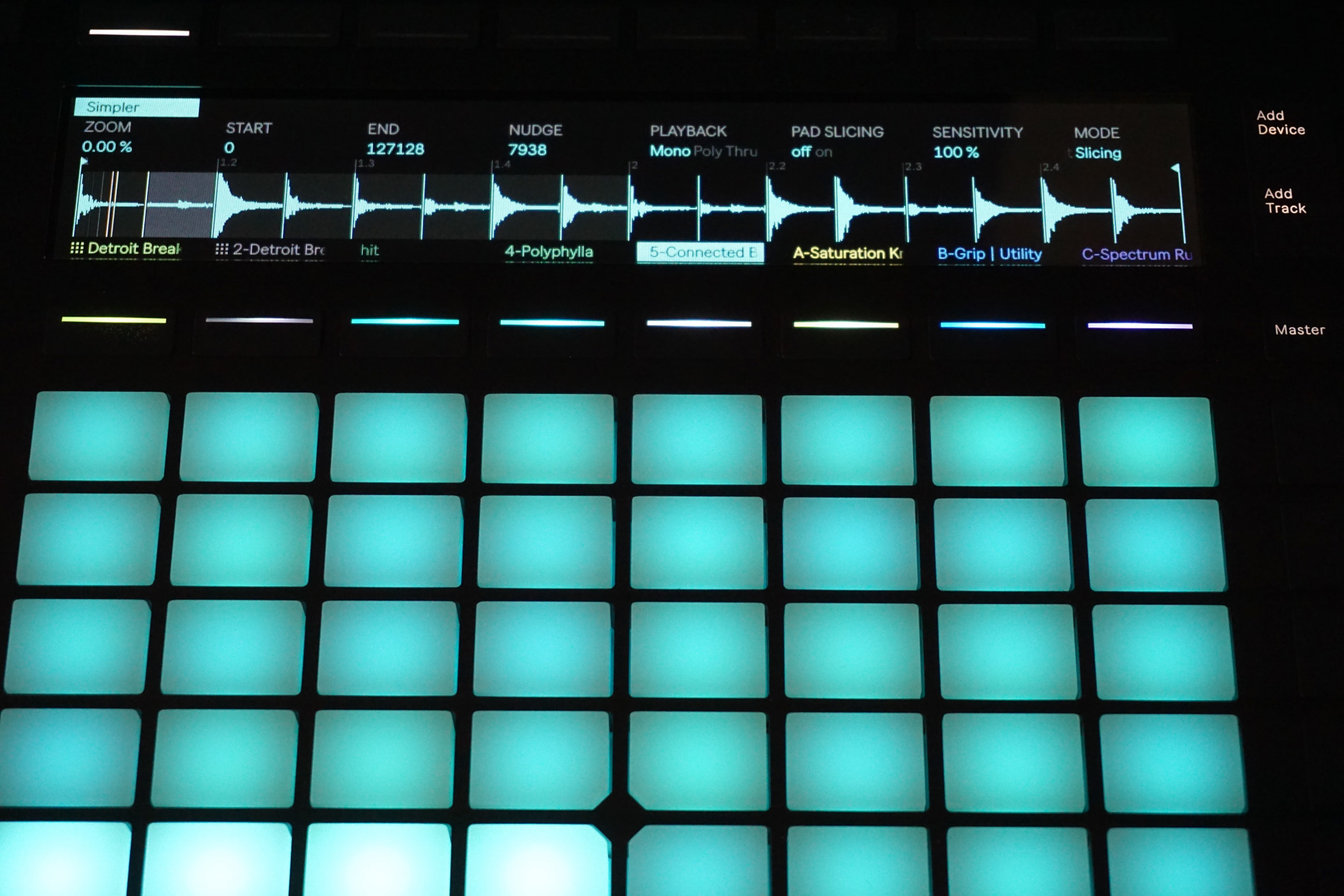 how to use a launchpad like an ableton push