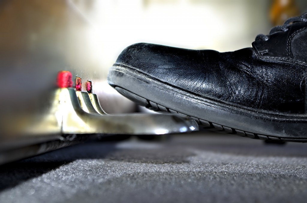 Pedals: this changes everything. Photo by Michael Pardo.