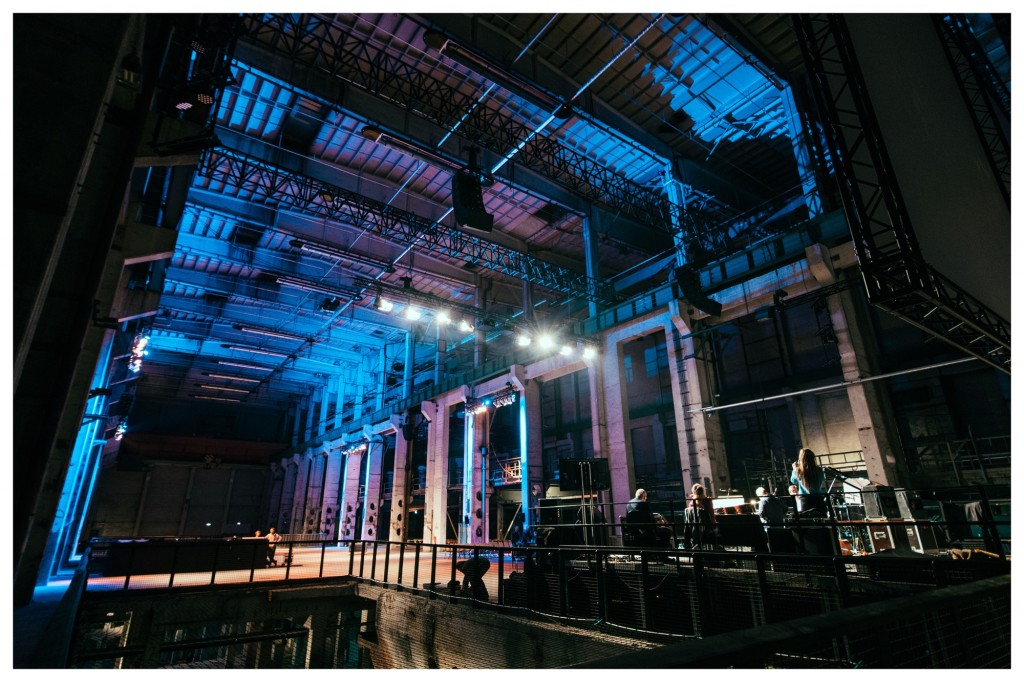 To redefine time, you have to first redefine space. Kraftwerk, the cavernous venue of The Long Now (and Berlin Atonal). Photo: Camille Blake.