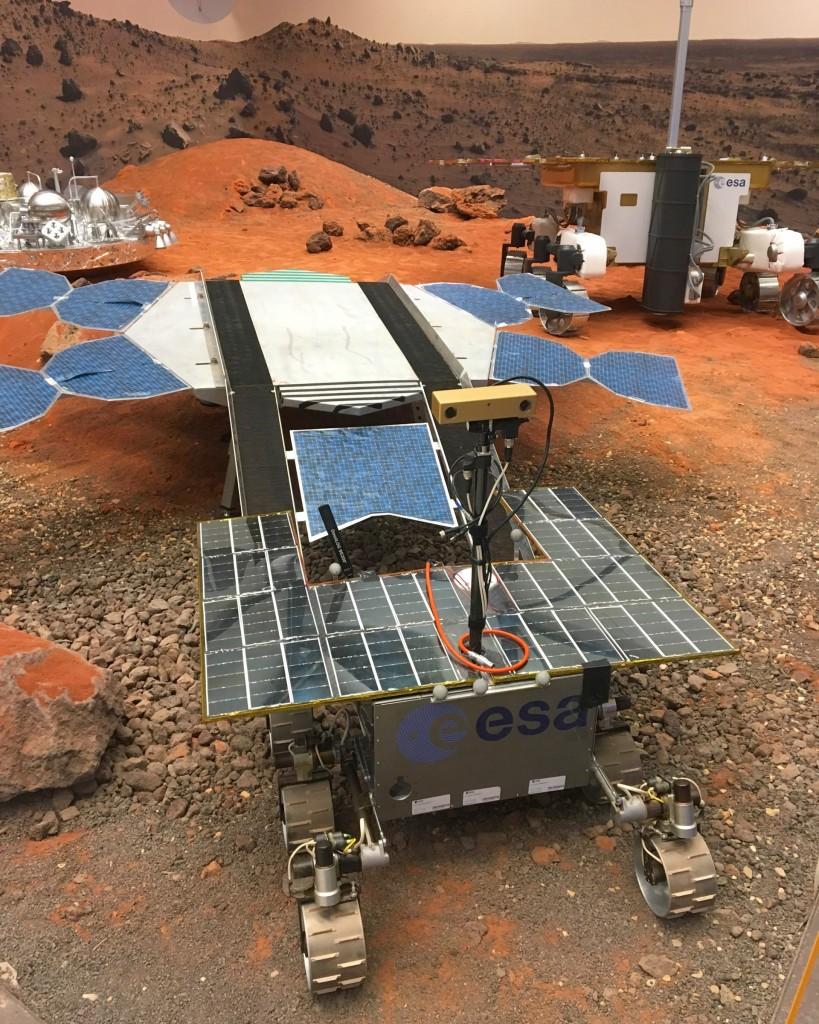 Europe is preparing for the (robotic) journey to Mars. Photo: CDM.