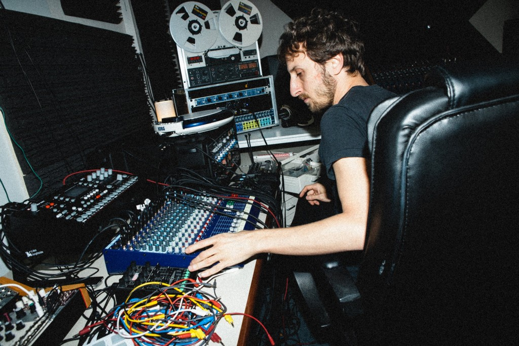 Lucy in his studio, for CDM.