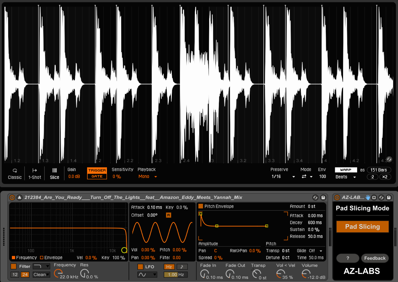 It slices! Patches make Ableton's new Simpler more powerful