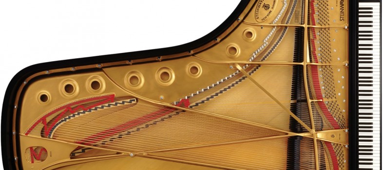 Steinway Model D. Photo courtesy Steinway & Sons.