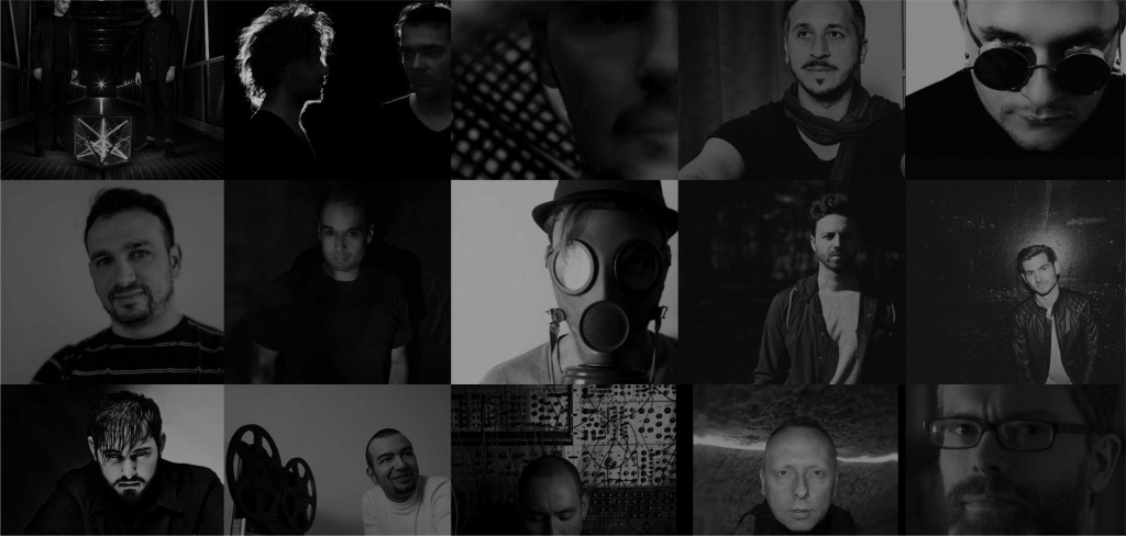 Tiptop's artist roster.