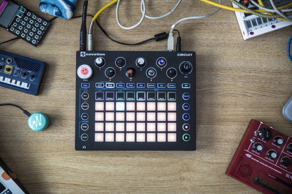 Suren's Circuit, in the studio.