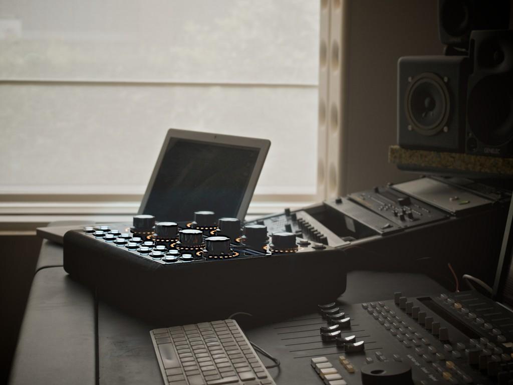 Inside SX's studio.