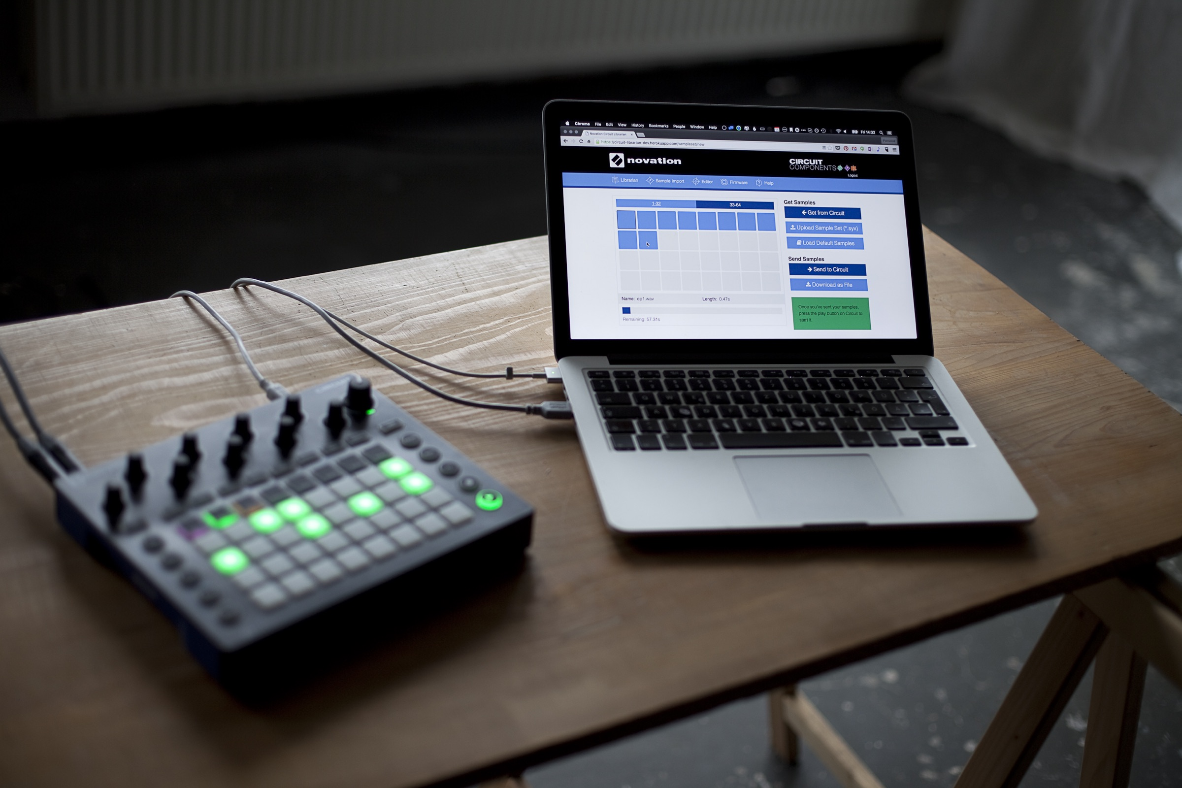 Make Novation Circuit your own, with updates, browser tools - CDM ...