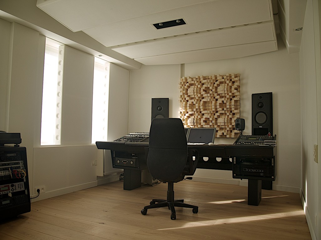 "The ""clean"" studio."