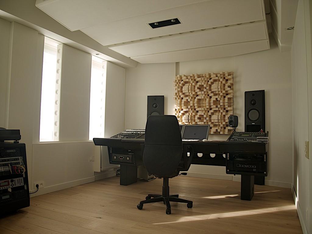 "The ""clean"" studio."