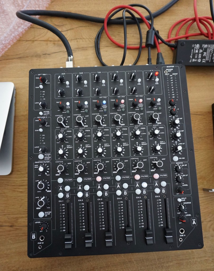 This Is The New Dj Mixer From Xone Creator And Richie Hawtin Cdm Audio Circuit Dsc02319