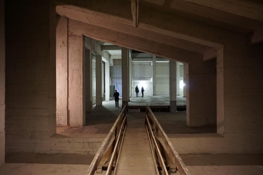 Inside the Absorption Chamber. Photo: CDM.
