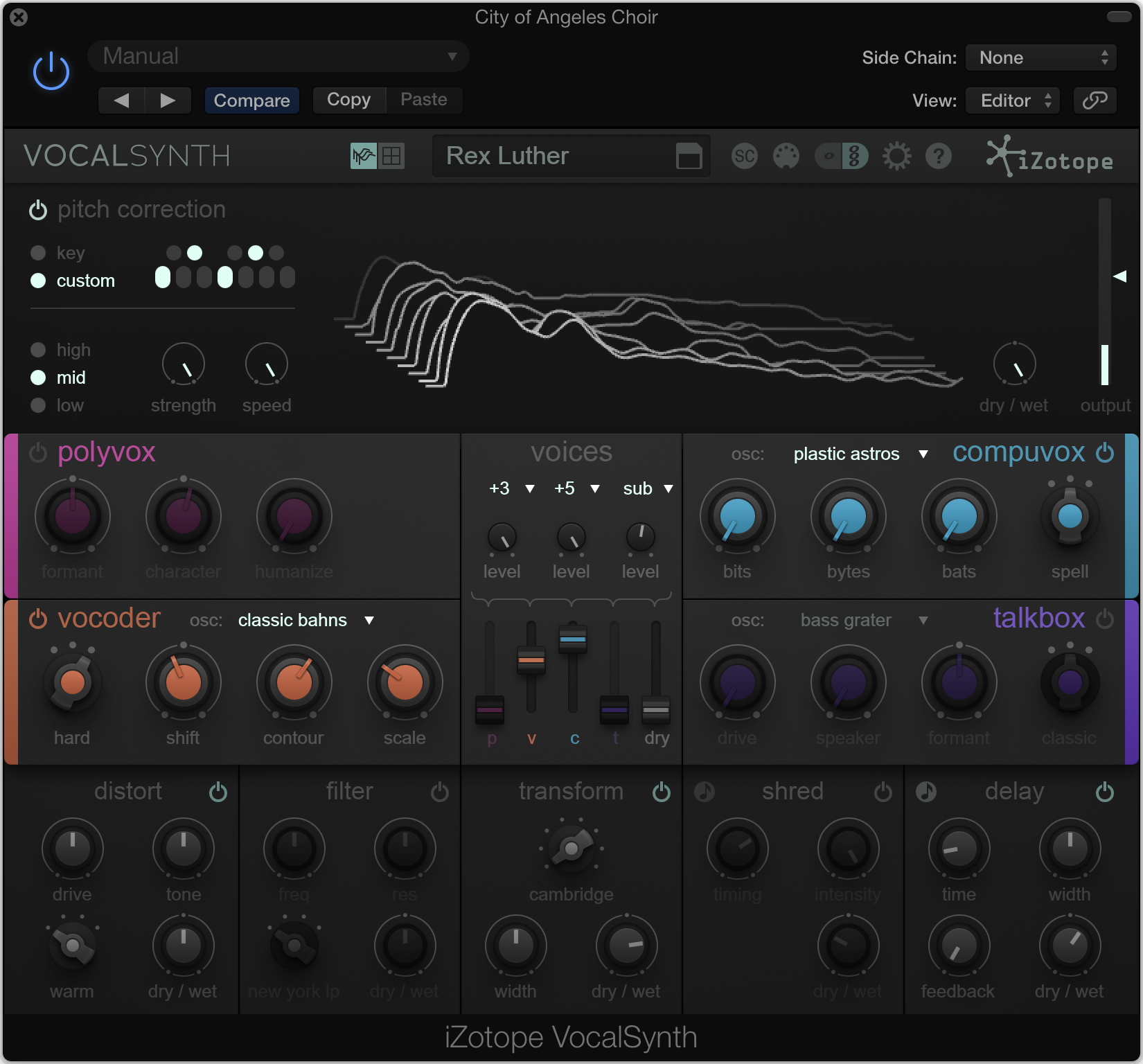 One plug-in combines all the classic vocal effects you want