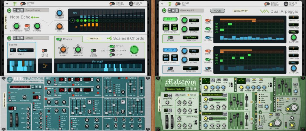 "The three ""Players"" give you some powerful options for transforming MIDI."