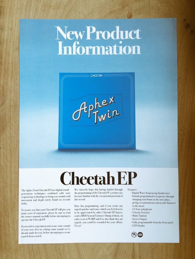 Aphex Twin uses an obscure British synth to sell new EP