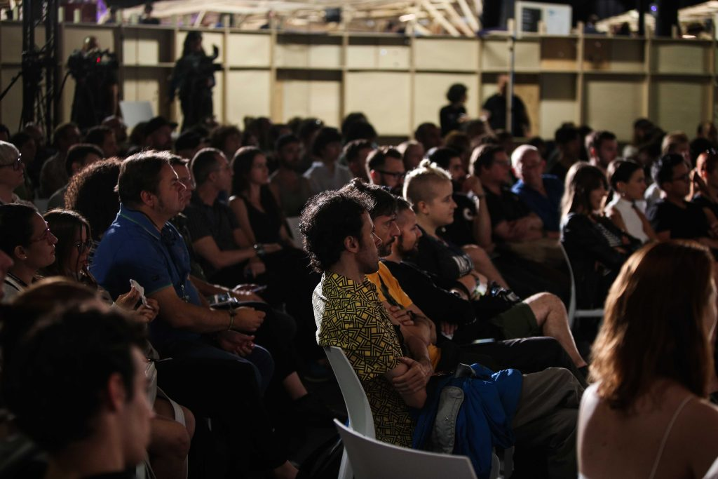 Audience at this year's stage, courtesy SONAR Festival / SONAR+D.