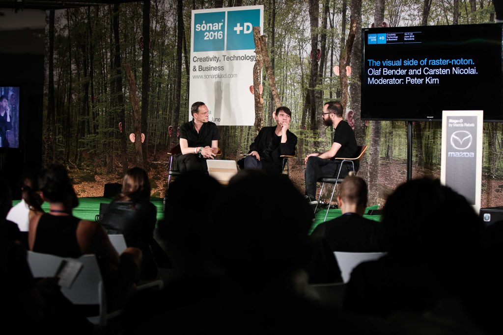 CDM's Peter Kirn speaks with Carsten and Olaf, courtesy SONAR Festival / SONAR+D.