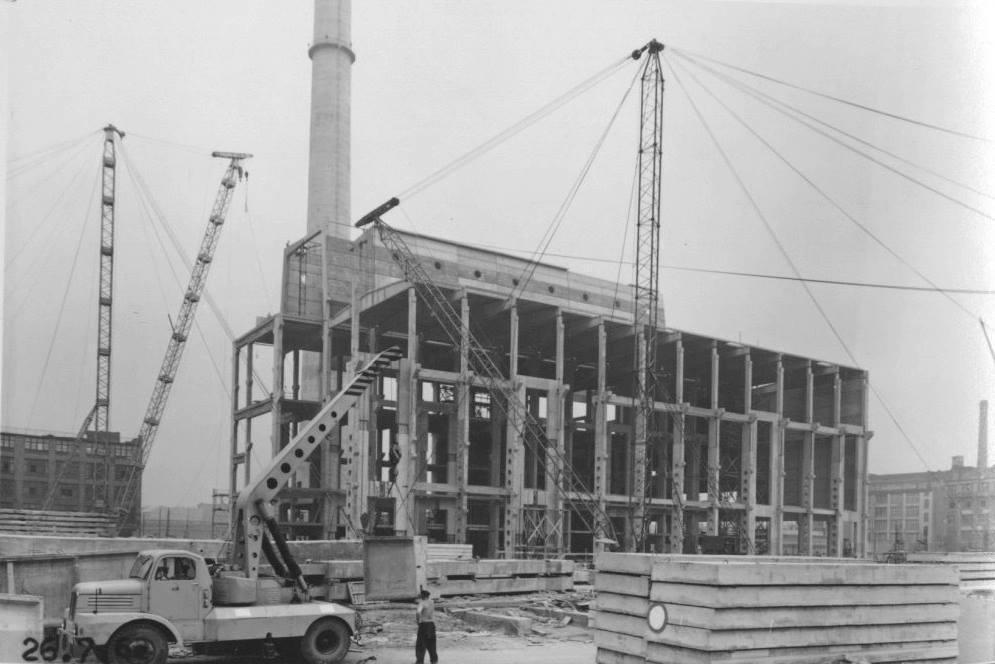 Tresor under construction.