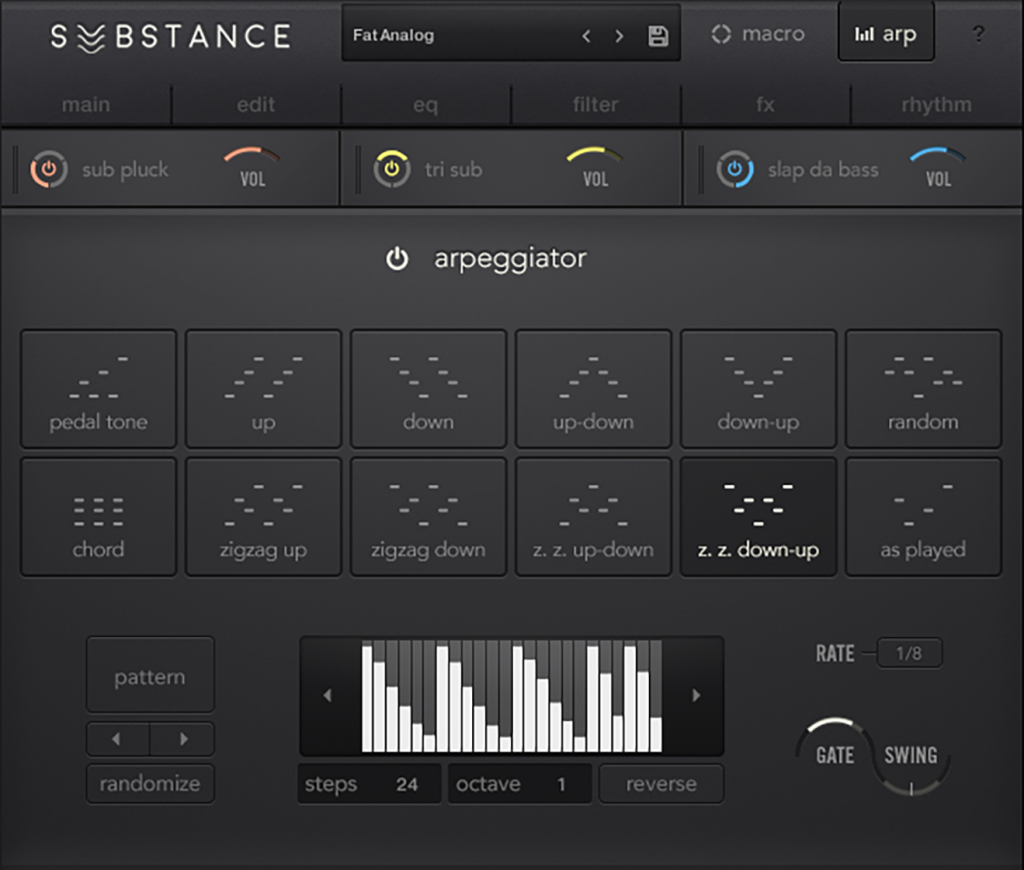 "When I say ""arpeggiator,"" I mean something that's quite a tool on its own. (Actually, it'd be nice to see this unbundled, but the stuff does work well as a suite.)"